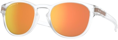 Oakley Latch Matte Clear with Prizm Rose Gold Polarized