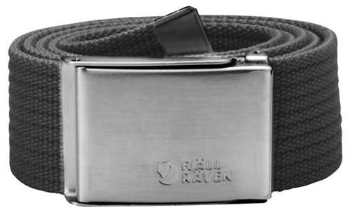 Fjallraven Canvas Belt dark grey 120cm