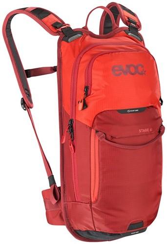Evoc Stage 6L+2L orange-chili red (with bladder)