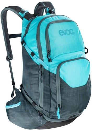 Evoc Explorer Pro 30L heather slate-neon blue (2020)