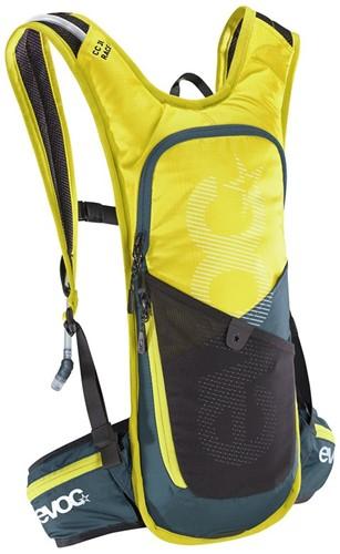 Evoc CC 3L Race +2L backpack sulphur-slate (with bladder)