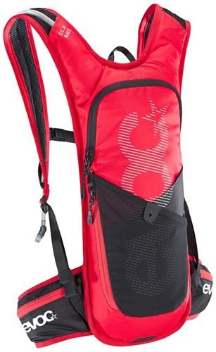Evoc CC 3L Race +2L backpack red-black (with bladder)
