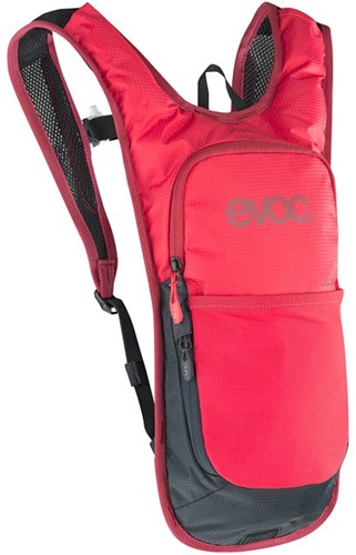 Evoc CC 2L+2L backpack red (with bladder)