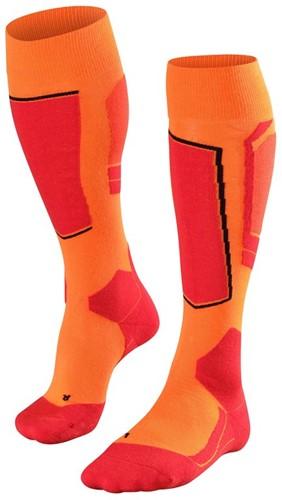 Falke SK4 Men ski socks flash orange 46-48