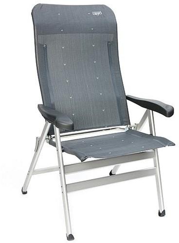 Crespo Camping chair AL-238 XL Dark Grey