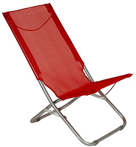 Red Mountain Beach Chair Arica Low red