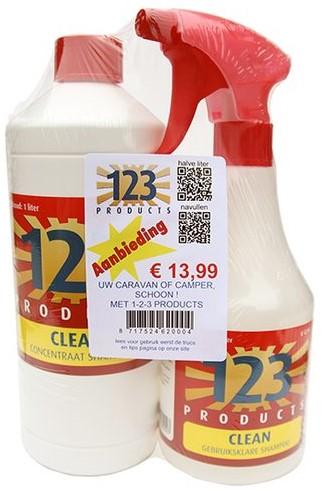 123 Clean Starters Pakket