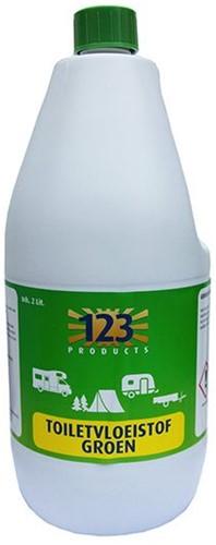 123 Toiletvloeistof Groen 2L