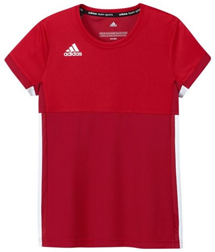 Adidas T16 Climacool S/S Tee Girls red/scarlet 140 (18/19)