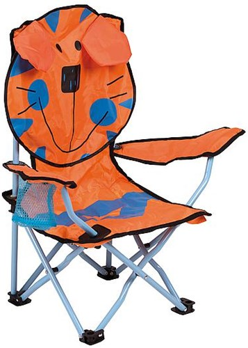 Bo-Camp Kids chair Foldable tiger