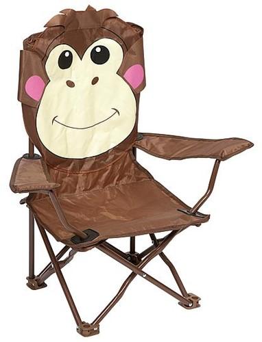 Bo-Camp Kids chair Foldable monkey