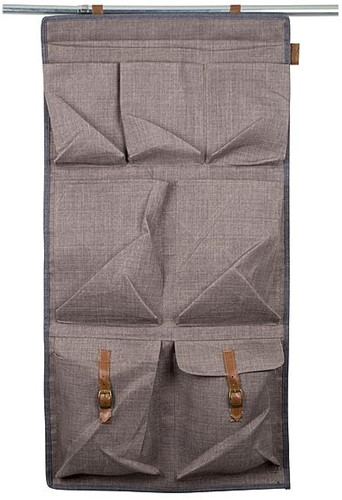 Bo-Camp Urban Outdoor Tentorganizer Hackney Taupe