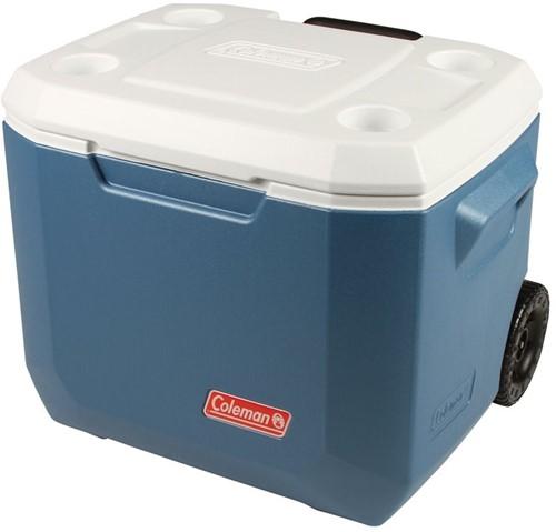 Coleman 50QT Xtreme Wheeled Cooler blue/white