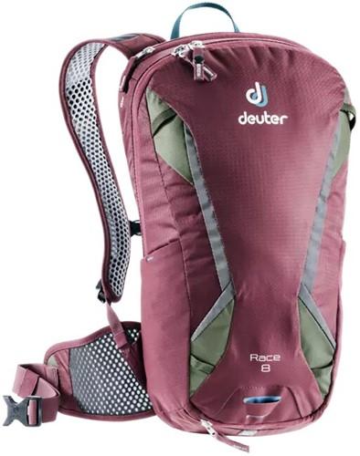 Deuter Race 8 Bordeaux-Rood/khaki