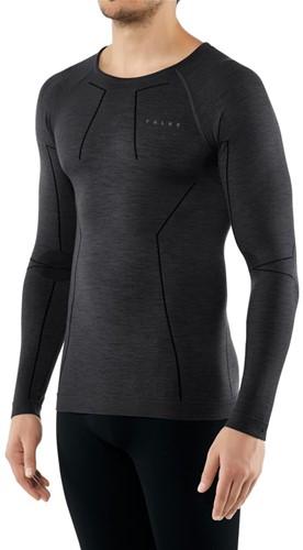 Falke Long Sleeve Comfort Wool-Tech M black L