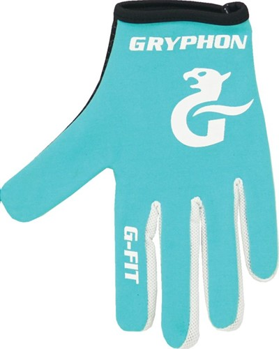 Gryphon G-Fit G4 Full LH teal M handschoen (19/20)
