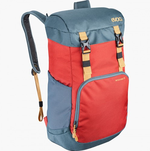 Evoc Mission 22L chili red-slate
