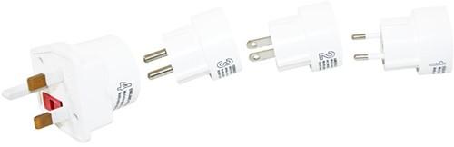 Haba Wereld-adapter set van 4 stekkers