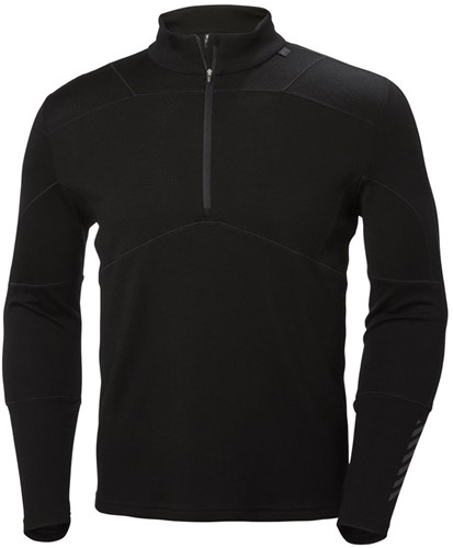 Helly Hansen Lifa Merino 1/2 Zip M black L