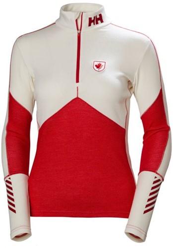 Helly Hansen Lifa Merino 1/2 Zip W canada ski team L (2018)