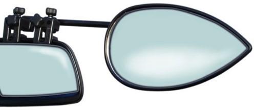 Milenco Aero Caravanspiegels Vlak Glas