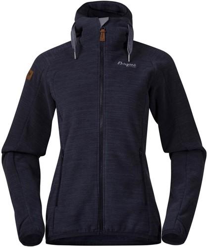 Bergans Hareid Fleece W Jacket dark navy mel S