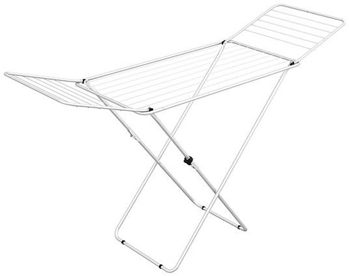Gimi Drying Rack Scissor Legs Jolly Wire Length 18 meter