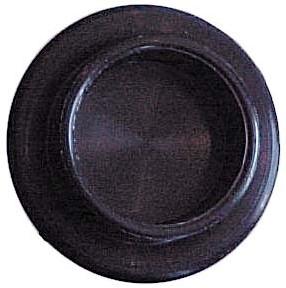 Campking Pole Groundplate 25/48mm black 4pcs