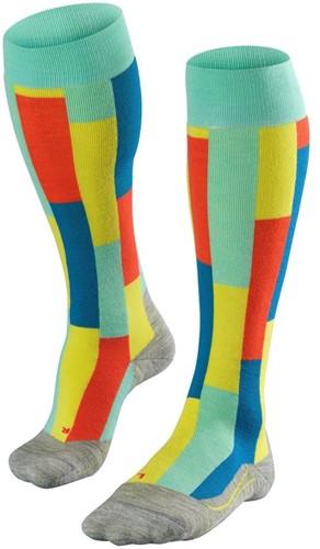 Falke SK4 Brick Women ski socks fiji 37-38