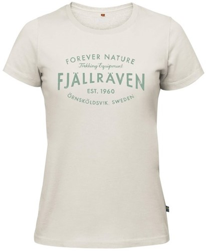 Fjallraven Est. 1960 T-Shirt dames wit M