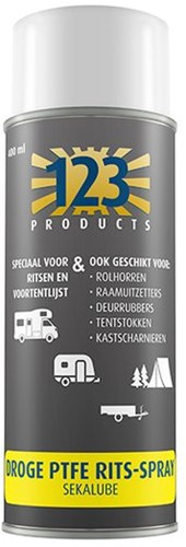 123 Sekalube Rits spray 400ml