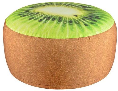 Garden Pouf Inflatable Water-resistant kiwi