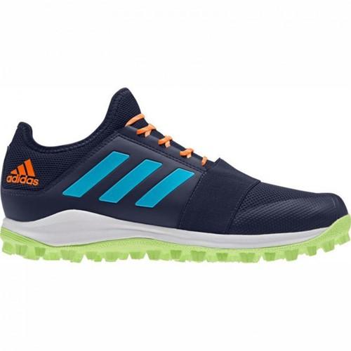 Adidas Divox blauw/wit/groen 40 (UK 6.5)