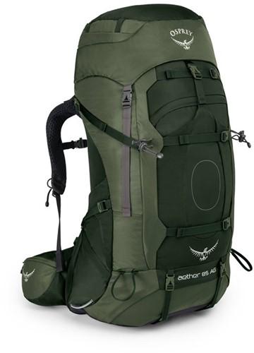 Osprey Aether AG 85 L groen