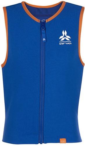 Arva Action Vest Junior D30 Boy blue/orange M