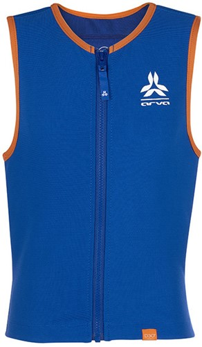 Arva Action Vest Junior D30 Boy blue/orange L