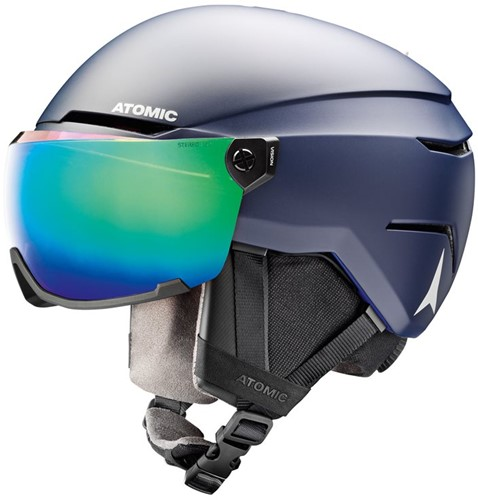 Atomic Savor Visor Stereo dark blue XL (63-65 cm)