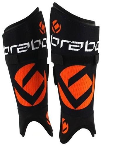 Brabo F1 Washable Shinguard black/orange XL (19/20)