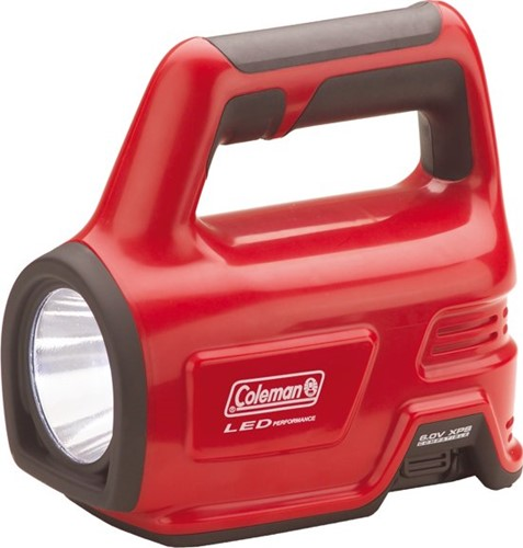 Coleman CPX 6 Heavy Duty LED Flashlight red