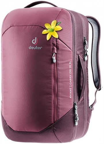 Deuter Aviant Carry On 28 SL maron/aubergine (2020)