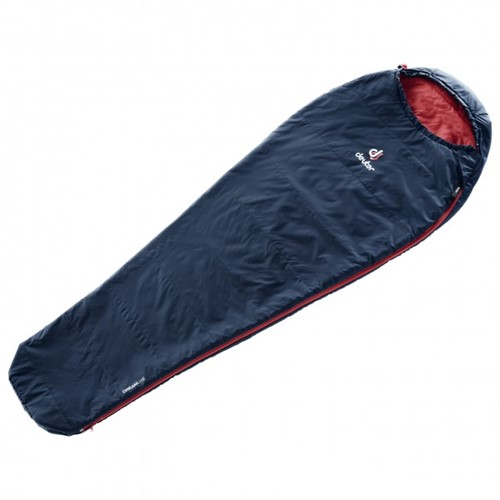Deuter Dreamlite sleeping bag large navy/cranberry (2020)