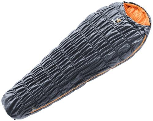 Deuter Exosphere 0G sleeping bag SL graphite/mango left (2020)