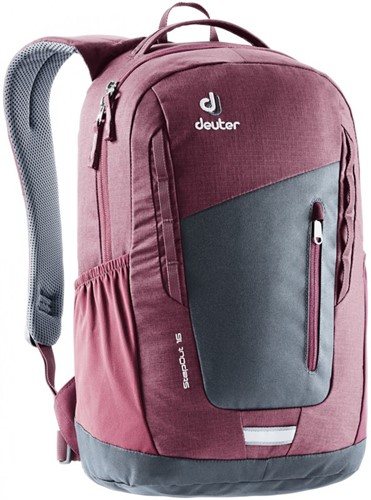 Deuter StepOut 16 Grafiet/Bordeaux-Rood