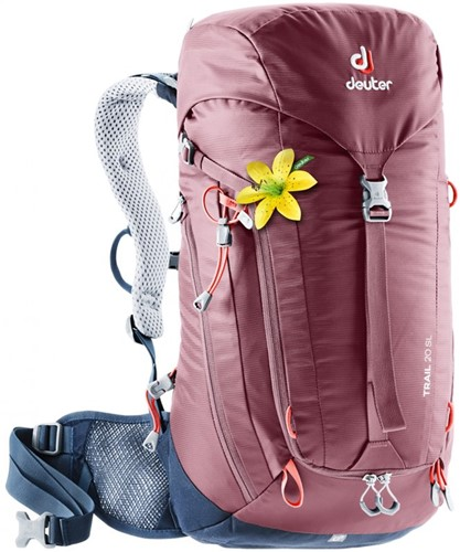 Deuter Trail 20 SL Bordeaux-Rood/Marineblauw