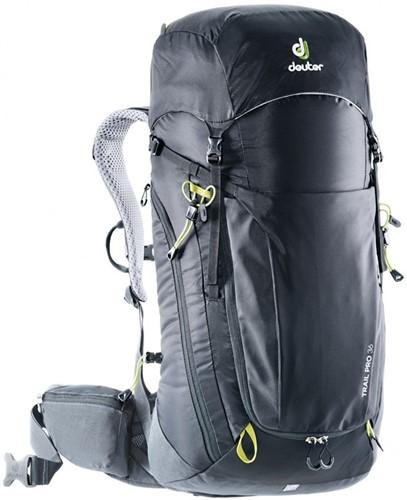 Deuter Trail Pro 36 Zwart/Grafiet