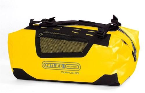 Ortlieb Duffle 85L geel/zwart