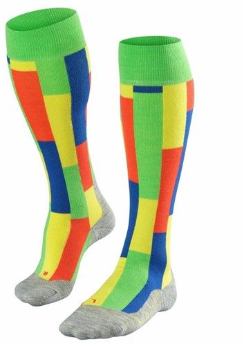 Falke SK4 Brick Men ski socks vivid green 44-45