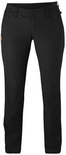 Fjallraven Abisko Stretch broek dames zwart 38