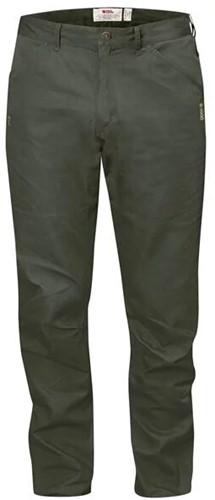 Fjallraven High Coast broek reg heren groen/grijs 54