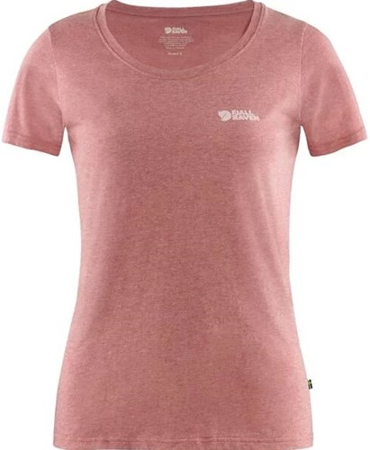 Fjallraven Logo T-shirt dames rood L